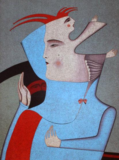 Portrait of Nijinsky 1978 Limited Edition Print by Mihail Chemiakin