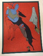 Red Centaur 1978 Limited Edition Print by Mihail Chemiakin - 1