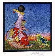 Carnaval de Saint Petersbourg, No. 18. Limited Edition Print by Mihail Chemiakin - 0
