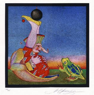 Carnaval de Saint Petersbourg, No. 18. Limited Edition Print - Mihail Chemiakin