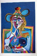 Homage to Picasso Suite of 5 1991 Limited Edition Print by Mihail Chemiakin - 5