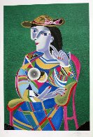 Homage to Picasso Suite of 5 1991 Limited Edition Print by Mihail Chemiakin - 3