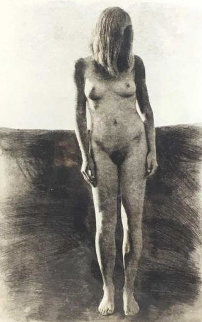 Standing Nude Woman AP Limited Edition Print by Chase Chen
