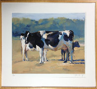 Cows 1990 Limited Edition Print by Chase Chen - 1