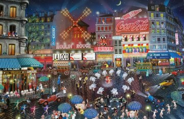 Moulin Rouge 2002 Limited Edition Print by Alexander Chen