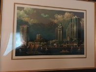 Aloha Tower 2005 Limited Edition Print by Alexander Chen - 1