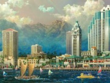 Aloha Tower 2005 Limited Edition Print - Alexander Chen