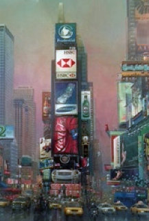 2 Times Square 2006 Limited Edition Print - Alexander Chen