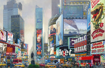 1 Times Square 2006 Limited Edition Print by Alexander Chen