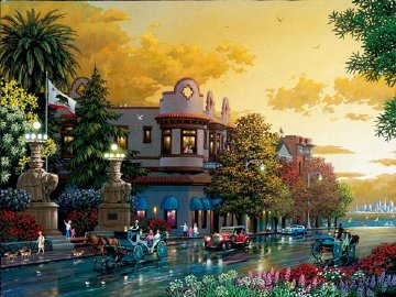 Sausalito, California  2006   Limited Edition Print by Alexander Chen
