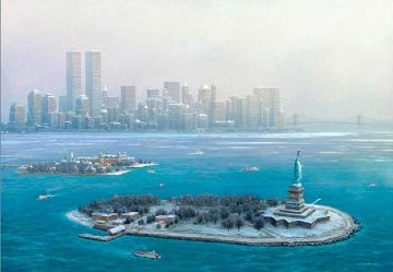 New York Gateway, Winter 2003 Limited Edition Print - Alexander Chen