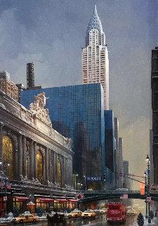 Chrysler Building 2015 Embellished Limited Edition Print - Alexander Chen