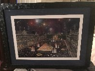 Louvre  Limited Edition Print by Alexander Chen - 1
