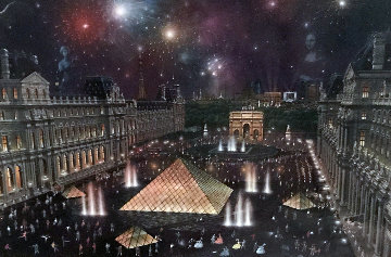 Louvre  Limited Edition Print by Alexander Chen