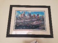 Miami Cruising Monoprint 1995 17x25 Works on Paper (not prints) by Alexander Chen - 1