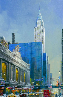 Chyrsler Building 2015 Embellished Limited Edition Print - Alexander Chen