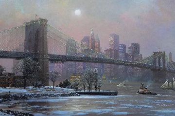 Brooklyn Bridge in Winter 2005 Limited Edition Print by Alexander Chen