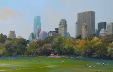 Central Park Fall Afternoon Limited Edition Print - Alexander Chen