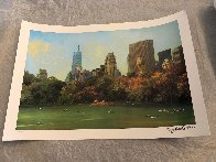 Central Park Fall Afternoon Limited Edition Print by Alexander Chen - 1