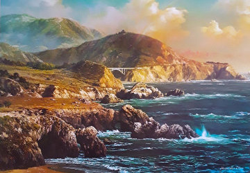 Big Sur, California 2009 Limited Edition Print by Alexander Chen