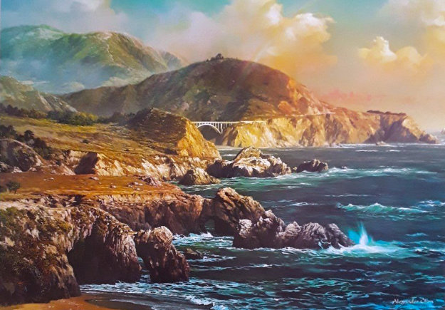 Big Sur, California 2009 Limited Edition Print by Alexander Chen
