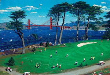 Lincoln Park San Francisco 2000 Limited Edition Print - Alexander Chen