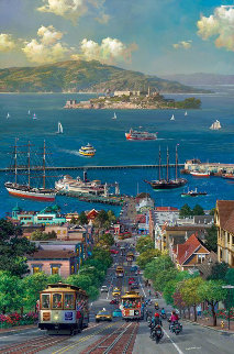Hyde Street View 2014 Limited Edition Print - Alexander Chen