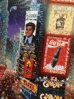 An Evening in Times Square 2013 Embellished  Limited Edition Print by Alexander Chen - 3