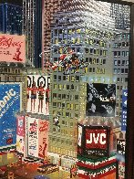An Evening in Times Square 2013 Embellished  Limited Edition Print by Alexander Chen - 4