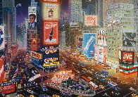 An Evening in Times Square 2013 Embellished  Limited Edition Print by Alexander Chen - 0
