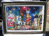 Times Square Parade 2007 Embellished Limited Edition Print by Alexander Chen - 1