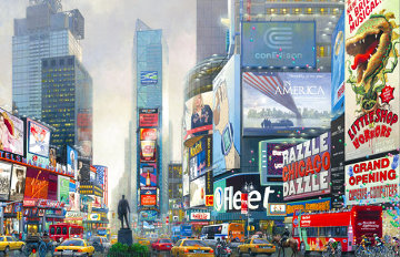 1 Times Square Limited Edition Print - Alexander Chen