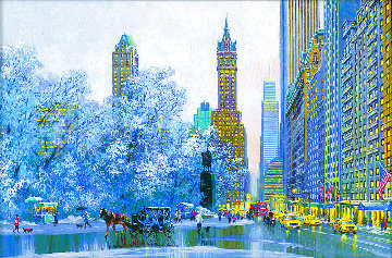 Central Park South and Center Drive 2015 Limited Edition Print - Alexander Chen