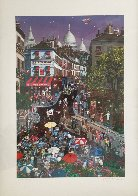 Day in Montmartre AP 1997 Limited Edition Print by Alexander Chen - 2