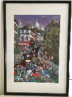 Day in Montmartre AP 1997 Limited Edition Print by Alexander Chen - 1