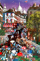 Day in Montmartre AP 1997 Limited Edition Print by Alexander Chen - 0