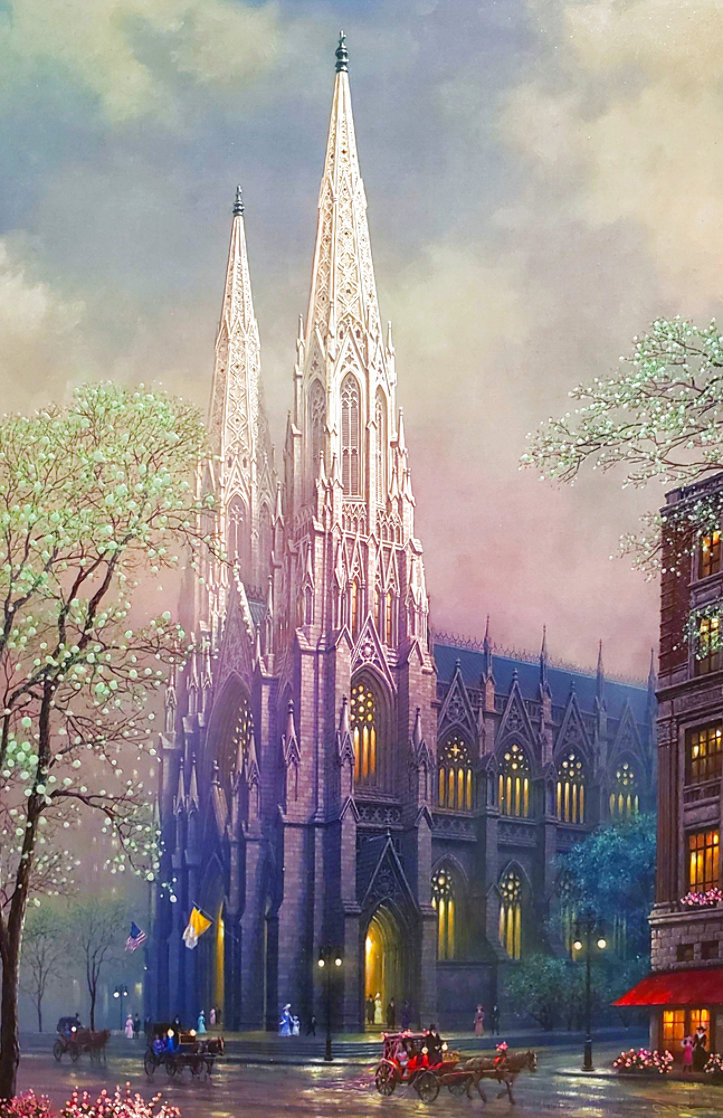 St. Patrick's Spring AP 2005 Embellished Limited Edition Print by Alexander Chen