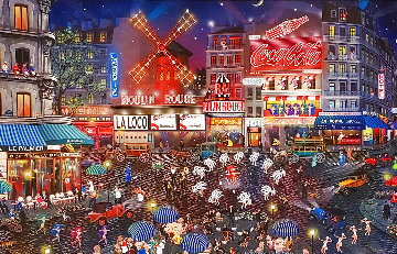 Moulin Rouge 2003 Embellished Limited Edition Print - Alexander Chen