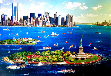 New York Gateway 2002 Limited Edition Print - Alexander Chen