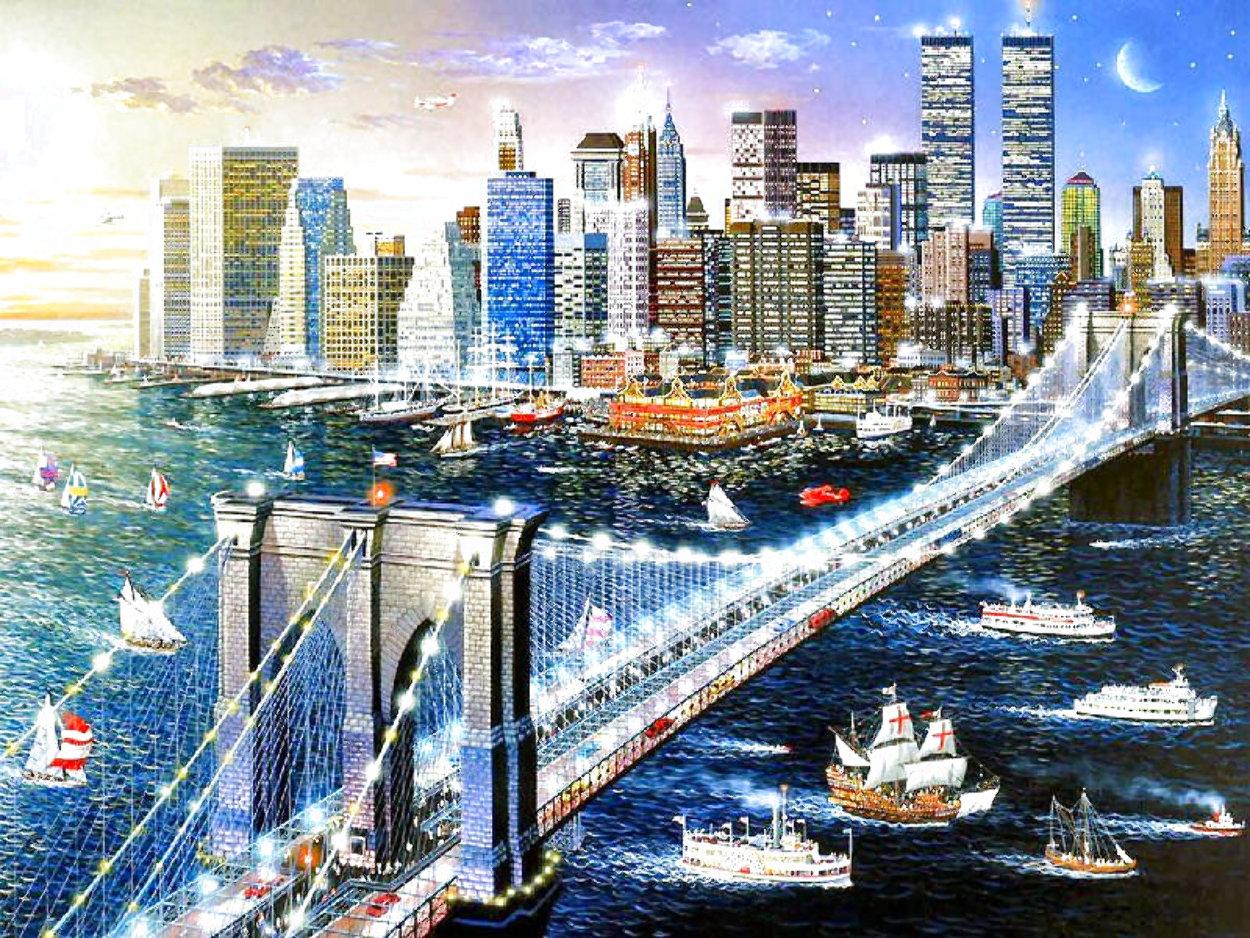 Brooklyn Bridge 2002 Limited Edition Print by Alexander Chen
