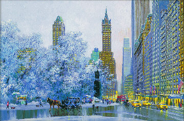Central Park South Morning 2017 Limited Edition Print - Alexander Chen