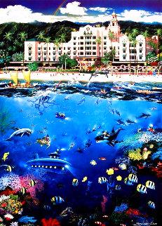 Waikiki Beach 2009 Limited Edition Print - Alexander Chen