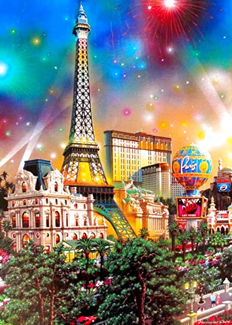 Paris 2009 Limited Edition Print by Alexander Chen
