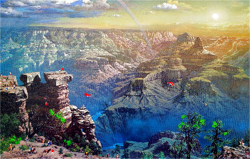 Grand Canyon 2003 Embellished Limited Edition Print - Alexander Chen