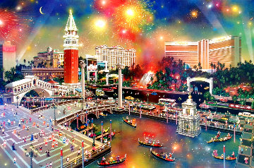 Grand View - Las Vegas 2002 Limited Edition Print - Alexander Chen