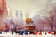 Central Park South 2006 Limited Edition Print by Alexander Chen - 4