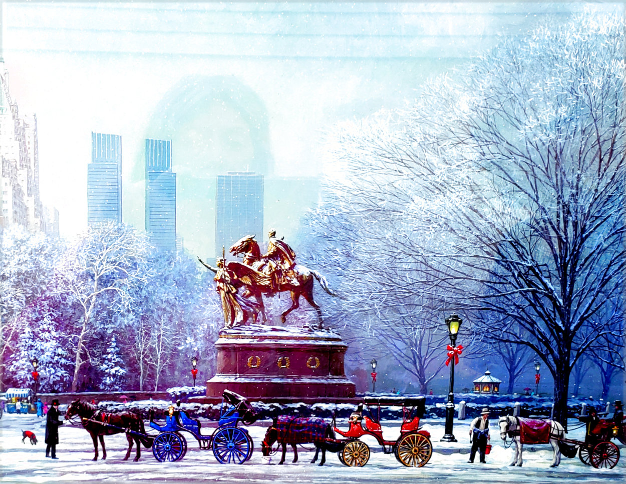 Central Park South 2006 Limited Edition Print by Alexander Chen