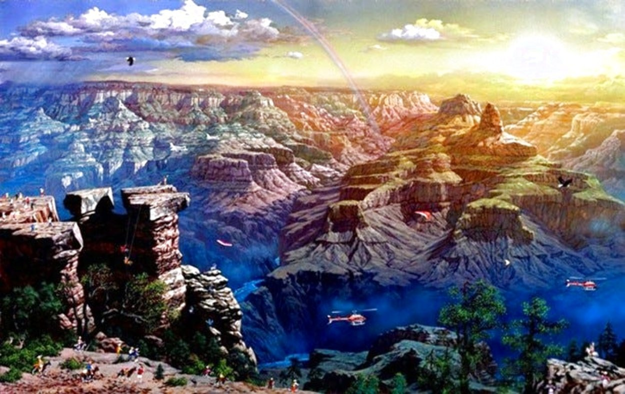 Grand Canyon 2001 Limited Edition Print by Alexander Chen