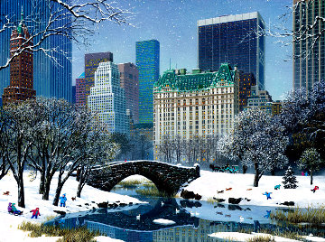 Central Park Winter Limited Edition Print - Alexander Chen