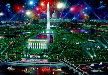 Washington Celebration 2000 1999 Limited Edition Print - Alexander Chen